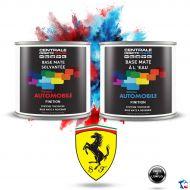 Peinture Ferrari base mate tricouche à vernir