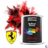 Peinture Ferrari brillant direct