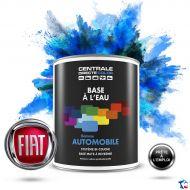 Peinture voiture Fiat base mate à l'eau