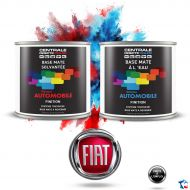 Peinture Fiat base mate tricouche à vernir