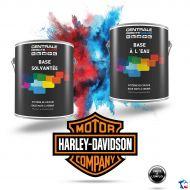Peinture Harley Davidson  base mate à vernir