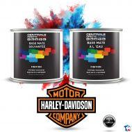 Peinture Harley Davidson base mate tricouche à vernir