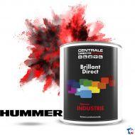 Peinture Hummer brillant direct