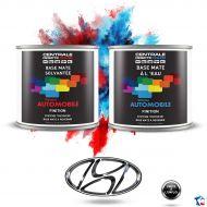 Peinture Hyundai base mate tricouche à vernir