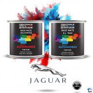 Peinture Jaguar base mate tricouche à vernir
