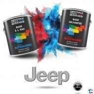 Peinture Jeep base mate à vernir