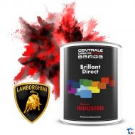 Peinture Lamborghini brillant direct