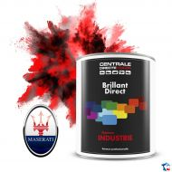 Peinture Maserati brillant direct