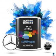Peinture voiture Mercedes base mate à l'eau