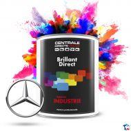 Peinture Mercedes brillant direct