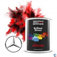 Peinture Mercedes brillant direct