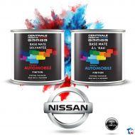 Peinture Nissan base mate tricouche à vernir