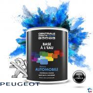 Peinture voiture Peugeot base mate à l'eau