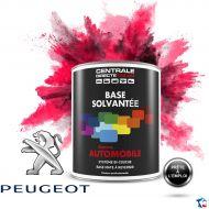 Peinture Peugeot base mate solvantée en pot