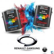 Peinture Renault Samsung base mate à vernir