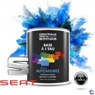 Peinture voiture Seat base mate à l'eau