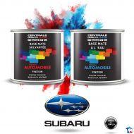 Peinture Subaru base mate tricouche à vernir