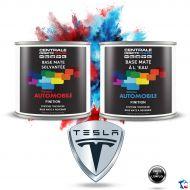 Peinture Tesla base mate tricouche à vernir