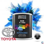 Peinture voiture Toyota base mate à l'eau
