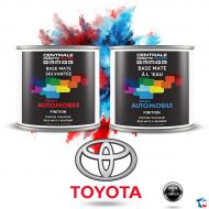 Peinture Toyota base mate tricouche à vernir