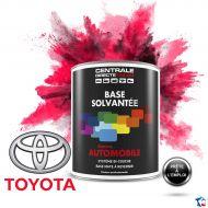 Peinture Toyota base mate solvantée en pot