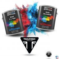 Peinture Triumph base mate à vernir