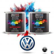 Peinture Volkswagen base mate tricouche à vernir