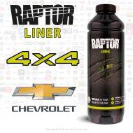 Peinture Raptor 4x4 Chevrolet