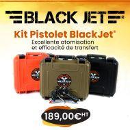Mallette Pistolet BlackJet® Haut-Transfert-Efficace