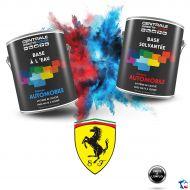 Peinture Ferrari base mate à vernir