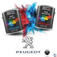 Peinture Peugeot base mate à vernir