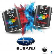 Peinture Subaru base mate à vernir