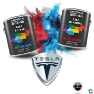 Peinture Tesla base mate à vernir