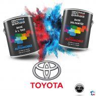 Peinture Toyota base mate à vernir