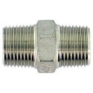 "Mamelon double mâle conique Inox 1/2"" x 1/2"""