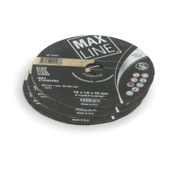 Roue à tronçonner et ébarber 76 x 1.0 mm Acier/Inox