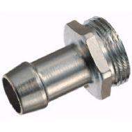 Jonction filetée cylindrique pour flexibles diam. int. 15mm