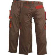 Pantalon 60% coton 40% polyester 245g/m² marron TXXL