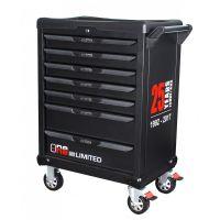 Servante Ks Tools One by one 7 tiroirs équipés de 366 outils KS823.7366A1