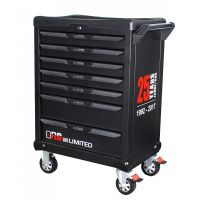 Servante Ks Tools One by one 7 tiroirs équipés de 349 outils KS823.7349A1