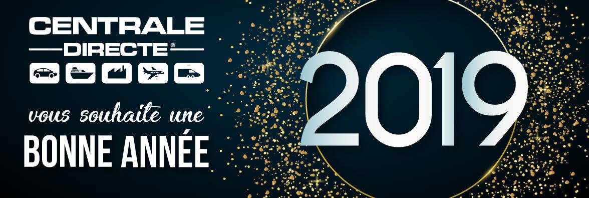 Centrale Directe vous souhaite une bonne année 2019
