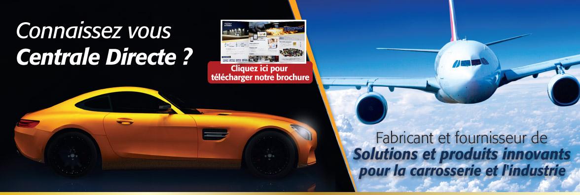 Centrale Directe - Fabricant et fournisseur de solutions et produits innovvants pour la carrosserie et l'industrie