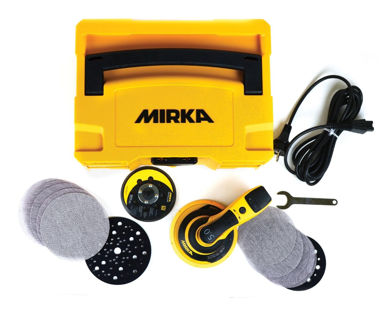 Coffret ponceuse Mirka DEROS 5650CV - 125/150mm