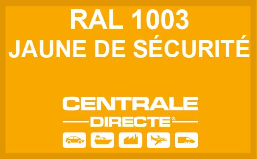 Couleur RAL 1003 Jaune de sécurité