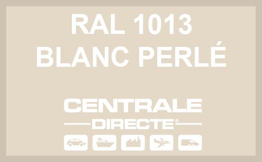 Couleur RAL 1013 Blanc perlé