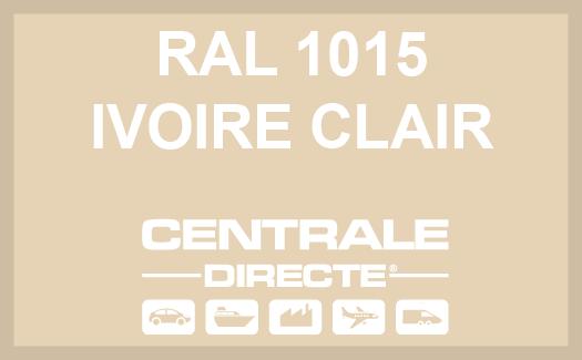 Couleur RAL 1015 Ivoire Clair