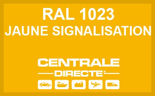 Couleur RAL 1023 Jaune signalisation