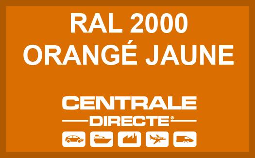 Couleur RAL 2000 Orangé jaune