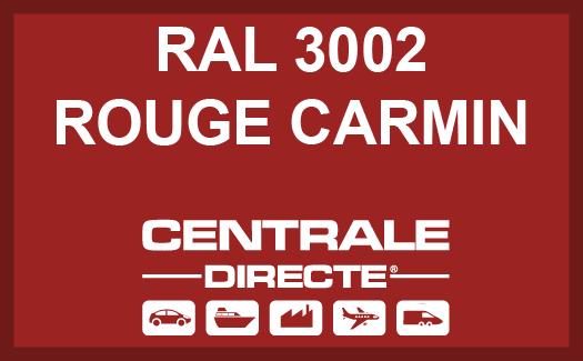 Couleur RAL 3002 Rouge Carmin