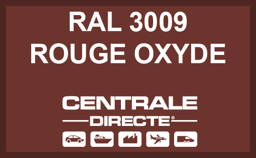 Couleur RAL 3009 Rouge oxyde